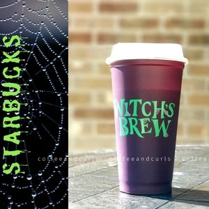 SB Purple GITD Lid Witches Brew Grande Hot Cup